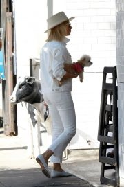 Ashley Tisdale Out with Her Dog in Studio City 2018/10/27 9