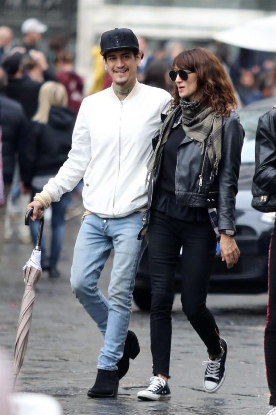 Asia Argento Out in Florence 2018/10/08 1