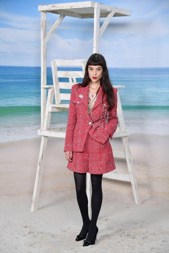 Astrid Berges-Frisbey at Chanel Show at Paris Fashion Week 2018/10/02 1