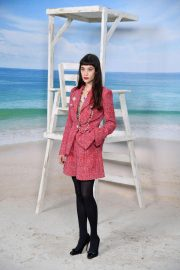 Astrid Berges-Frisbey at Chanel Show at Paris Fashion Week 2018/10/02 3