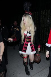 Avril Lavigne at Halloween Party in West Hollywood 2018/10/27 5