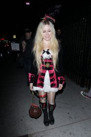 Avril Lavigne at Halloween Party in West Hollywood 2018/10/27 7