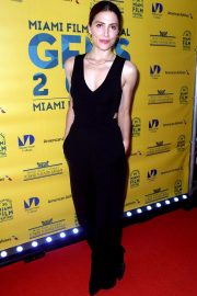 Barbara Lennie at Everybody Knows Premiere at Miami Film Festival 2018/10/13 1