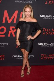 Becki Newton at Tell Me A Story Premiere in New York 2018/10/23 1