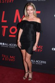 Becki Newton at Tell Me A Story Premiere in New York 2018/10/23 11