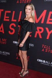 Becki Newton at Tell Me A Story Premiere in New York 2018/10/23 12