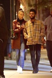 Bella Hadid and The Weeknd Out in New York 2018/10/10 2