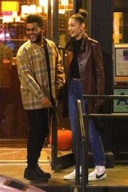 Bella Hadid and The Weeknd Out in New York 2018/10/10 3