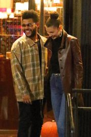 Bella Hadid and The Weeknd Out in New York 2018/10/10 4