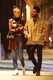 Bella Hadid and The Weeknd Out in New York 2018/10/10 6