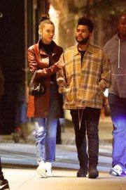 Bella Hadid and The Weeknd Out in New York 2018/10/10 7