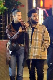 Bella Hadid and The Weeknd Out in New York 2018/10/10 10