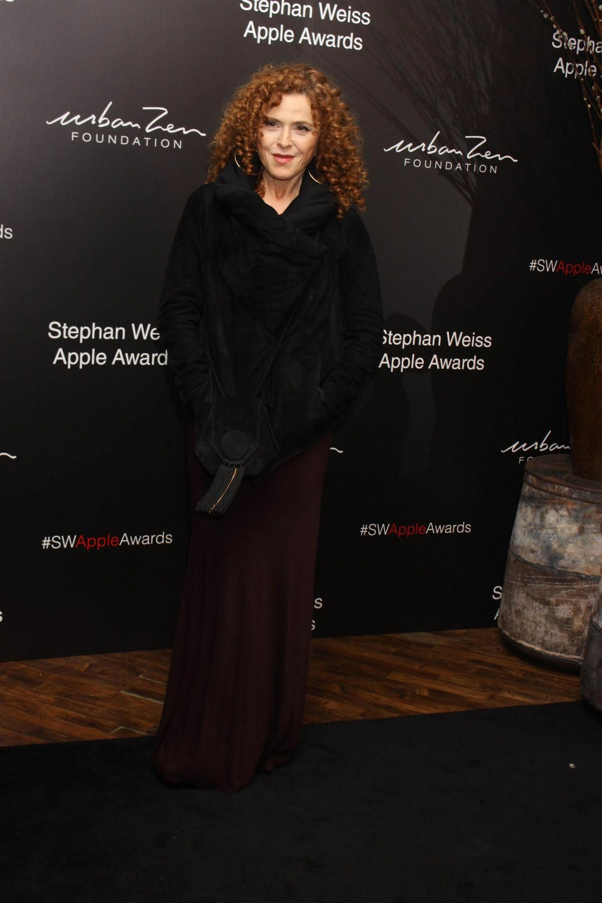 Bernadette Peters at Stephan Weiss Apple Awards in New York 2018/10/24 1
