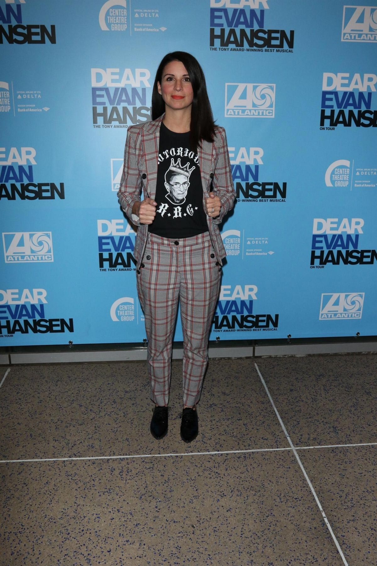 Beth Dover at Dear Evan Hansen Opening in Los Angeles 2018/10/20 1