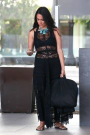 Brie Bella at LAX Airport in Los Angeles 2018/10/09 2