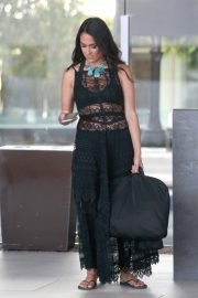 Brie Bella at LAX Airport in Los Angeles 2018/10/09 7