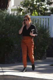 Brittany Snow Out for Lunch in Los Angeles 2018/10/24 3