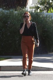 Brittany Snow Out for Lunch in Los Angeles 2018/10/24 5