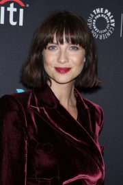 Caitriona Balfe at Outlander Panel at Paleyfest in New York 2018/10/05 3