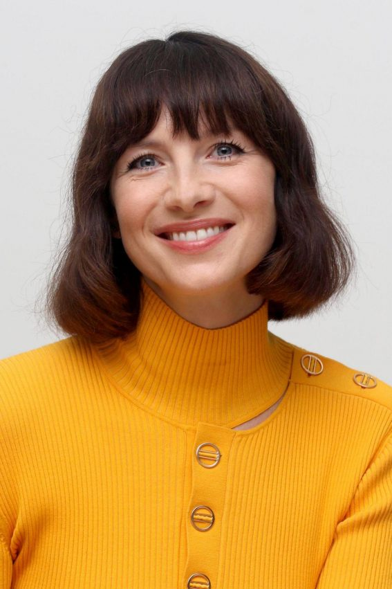 Caitriona Balfe at Outlander Press Conference in Beverly Hills 2018/10/08 1
