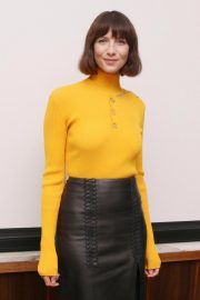 Caitriona Balfe at Outlander Press Conference in Beverly Hills 2018/10/08 3