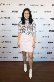 Camila Mendes at The New Romantic Premiere at Vancouver International Film Festival 2018/10/04 4