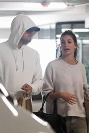 Camila Morrone and Leonardo DiCaprio Out in Century City 2018/10/16 2