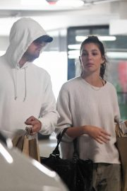 Camila Morrone and Leonardo DiCaprio Out in Century City 2018/10/16 3