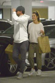 Camila Morrone and Leonardo DiCaprio Out in Century City 2018/10/16 6