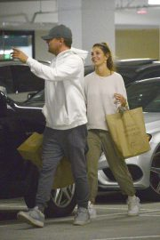 Camila Morrone and Leonardo DiCaprio Out in Century City 2018/10/16 7