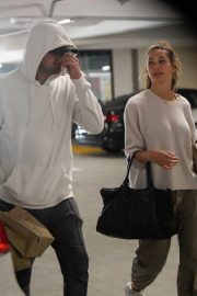 Camila Morrone and Leonardo DiCaprio Out in Century City 2018/10/16 8