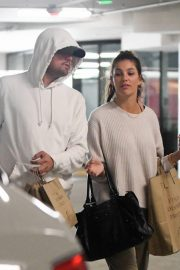 Camila Morrone and Leonardo DiCaprio Out in Century City 2018/10/16 9