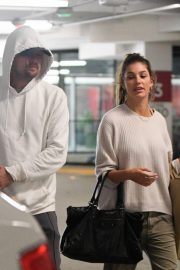 Camila Morrone and Leonardo DiCaprio Out in Century City 2018/10/16 10