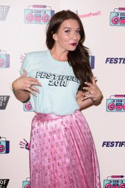 Candice Brown at Coppafeel Charity's Festifeel in London 2018/10/06 1