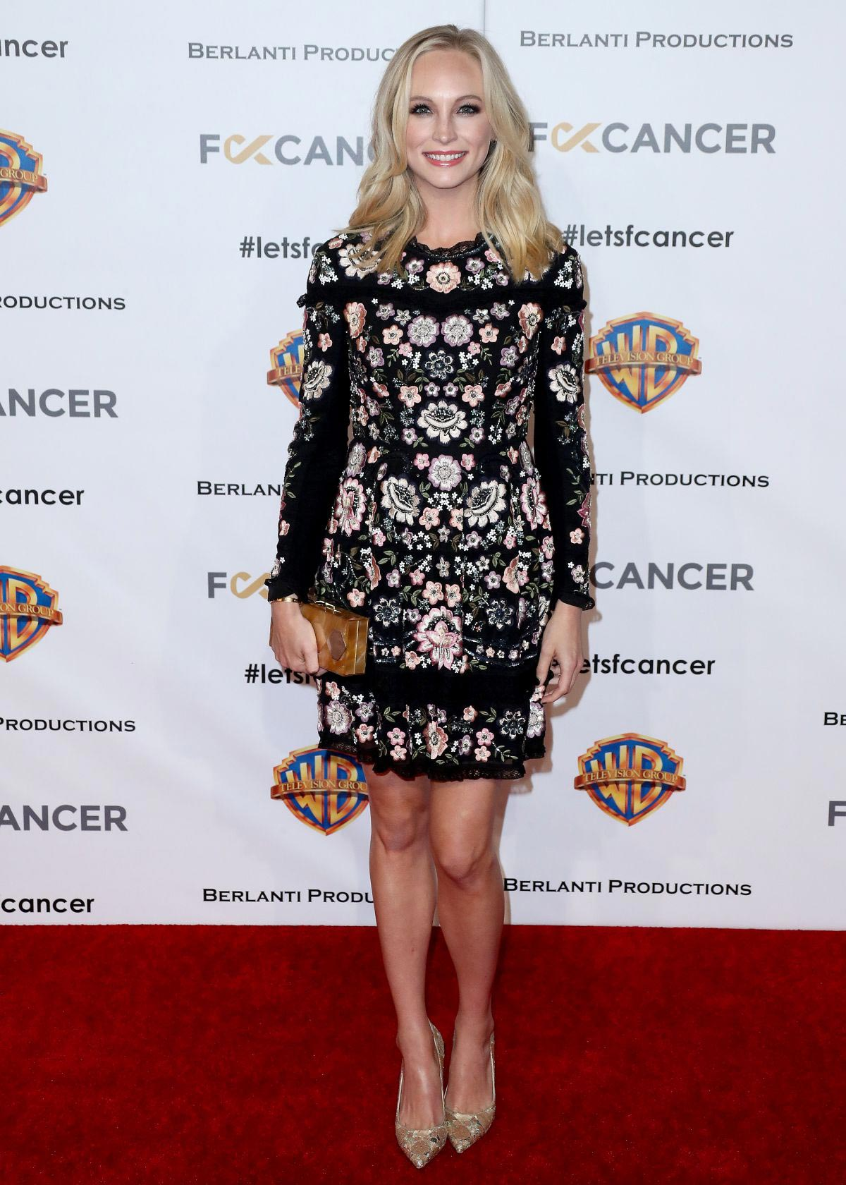 Candice King at Barbara Berlanti, Fk Cancer Benefit in Los Angeles 2018/10/13 1