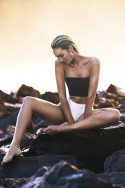 Candice Swanepoel for Tropic of C Swimwear 2018 Collection Photos 16