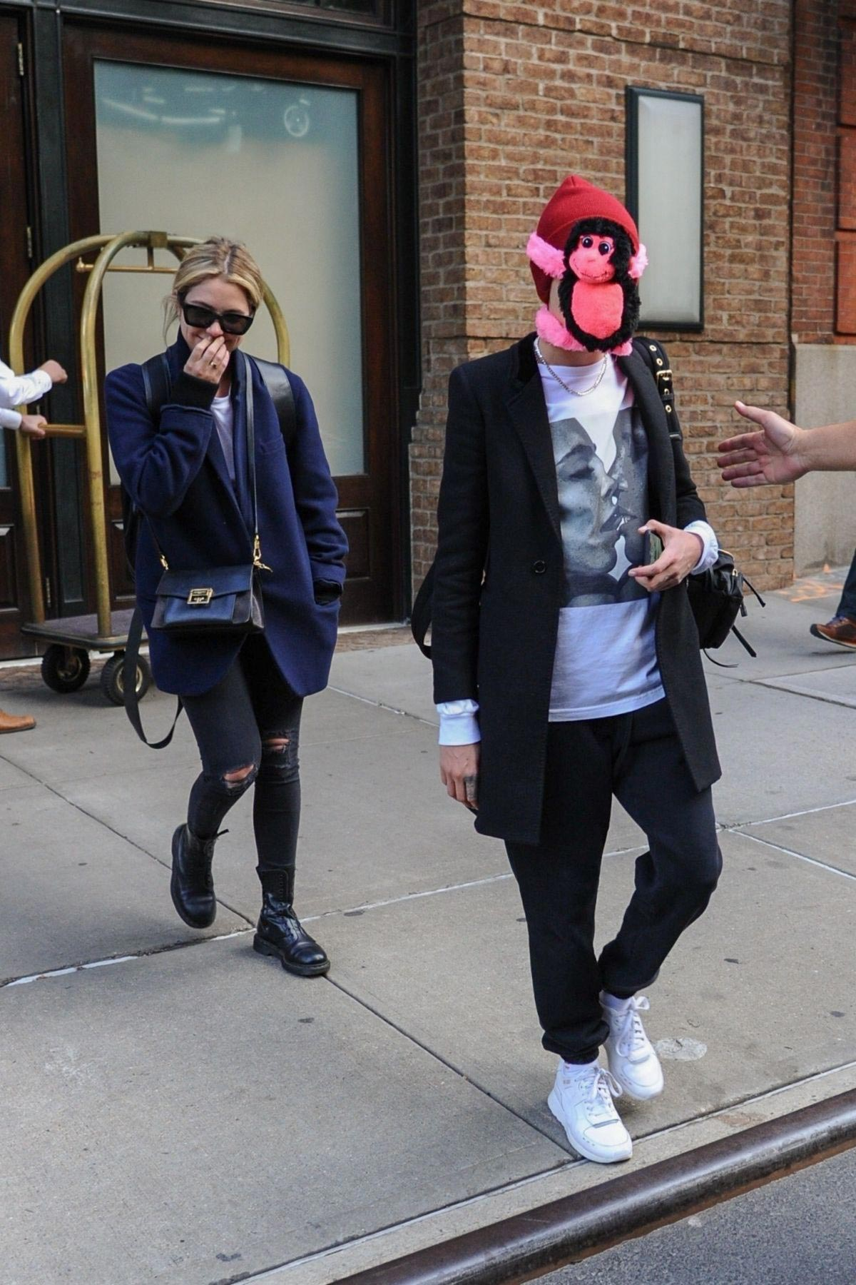Cara Delevingne and Ashley Benson Leaves Greenwich Hotel in New York 2018/10/19 1