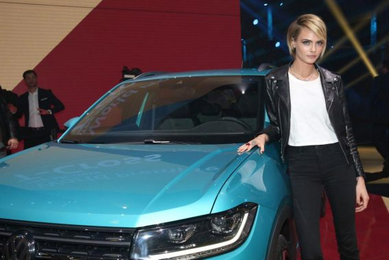 Cara Delevingne at New Volkswagen T-Cross Premiere in Amsterdam 2018/10/25 1