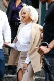 Cardi B Out and About in New York 2018/10/01 5