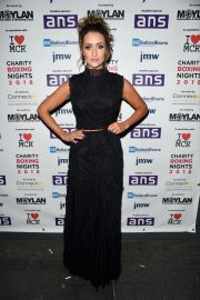 Catherine Tyldesley at Charity Boxing Nights Event in Manchester 2018/10/06 3