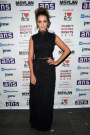 Catherine Tyldesley at Charity Boxing Nights Event in Manchester 2018/10/06 4