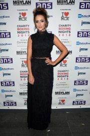 Catherine Tyldesley at Charity Boxing Nights Event in Manchester 2018/10/06 7
