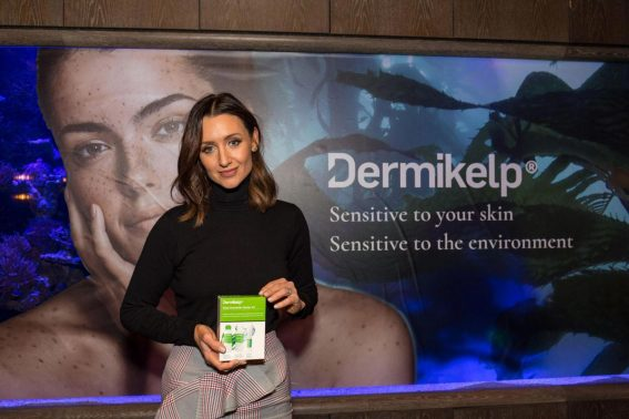 Catherine Tyldesley at Dermikelp Skin Care Brand Presentation in London 2018/10/25 1