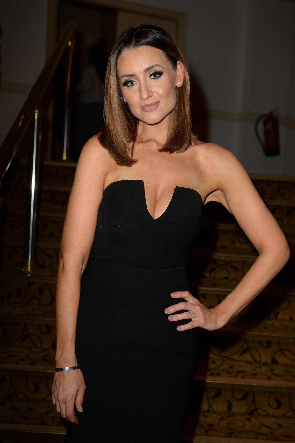 Catherine Tyldesley at Manchester Fashion Festival at Midland Hotel 2018/10/13 1