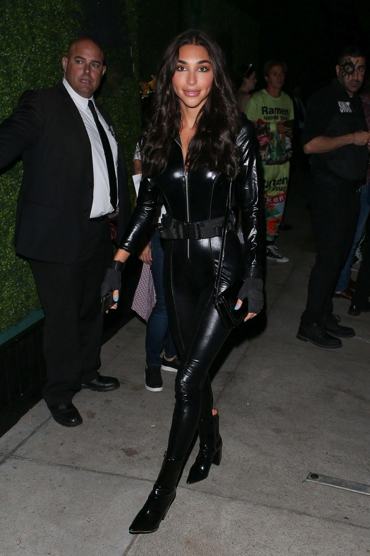 Chantel Jeffries Arrives at Casamigos Halloween Party in Los Angeles 2018/10/26 1