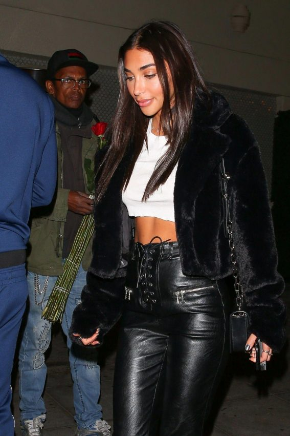 Chantel Jeffries at Delilah in West Hollywood 2018/10/10 1