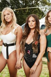 Chloe Meadows, Chloe Lewis, Courtney Green and Clelia Theodorou at Pool Party in Essex 2018/08/21 6