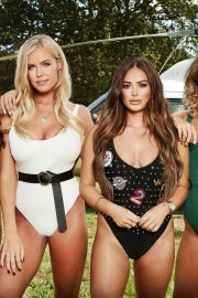 Chloe Meadows, Chloe Lewis, Courtney Green and Clelia Theodorou at Pool Party in Essex 2018/08/21 7