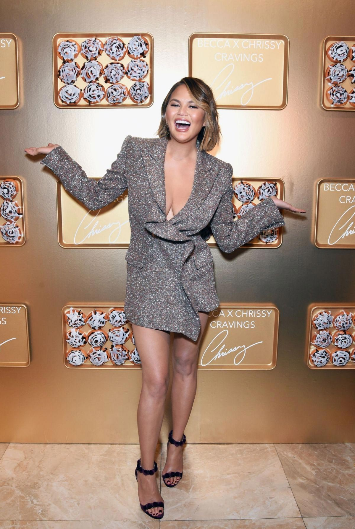 Chrissy Teigen at Sephoria: House of Beauty in Los Angeles 2018/10/20 1