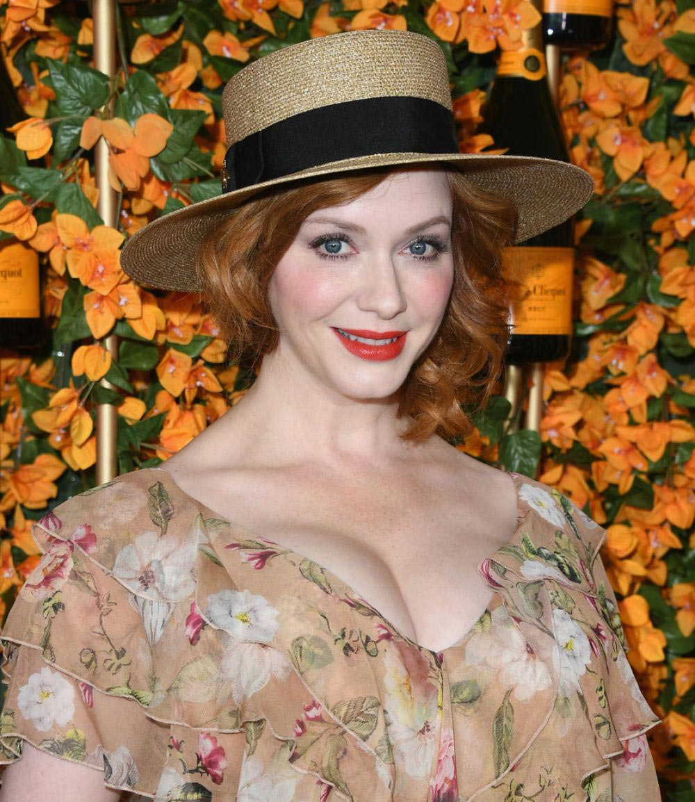Christina Hendricks at 2018 Veuve Clicquot Polo Classic in Los Angeles 2018/10/06 1